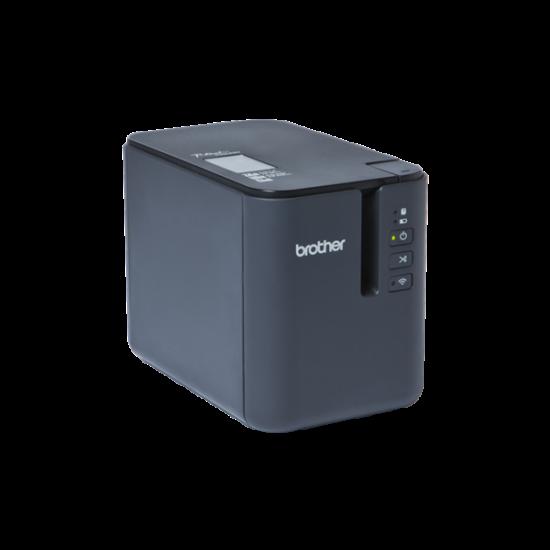 BROTHER Cimkenyomtató PT-P950NW, asztali, thermál, WiFi/Bluetooth/LAN/USB/Soros, 360dpi, PT Editor Lite, Tze/HGe szalag