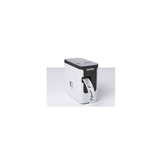 BROTHER Címkenyomtató PT-P700, asztali (irodai), thermál, 30mm/mp, USB, 180dpi, P-Touch Editor Lite