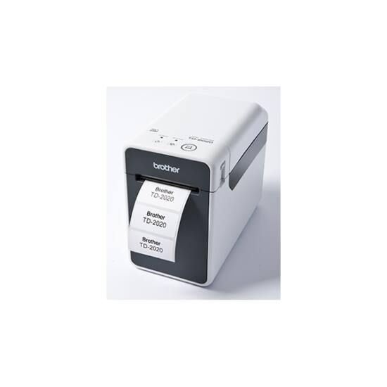 BROTHER Cimkenyomtató TD-2020, direkt thermal, USB/soros, 300x300dpi, 6MB