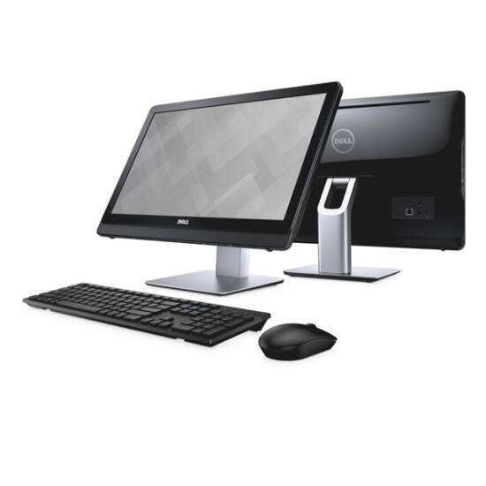 """Dell Inspiron AIO 3264 21.5"""" FHD Touch Core i5-7200U (3.10 GHz), 8GB, 1TB, Linux, fekete"""