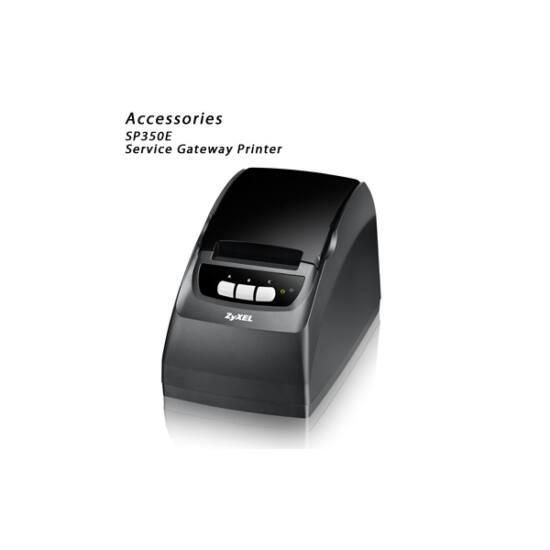 ZYXEL Service Gateway Printer SP350E
