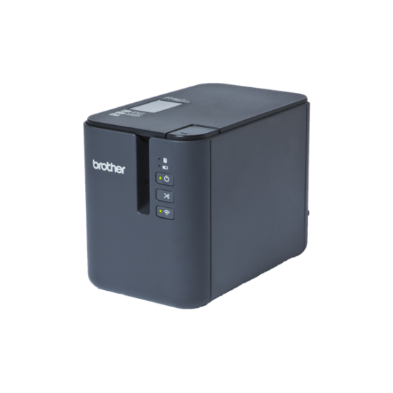 BROTHER Cimkenyomtató PT-P900W, asztali, TZe szalag: 3,5-36mm, 60mm/s, WiFi/USB, iPrint&Label/Cable Label Tool app