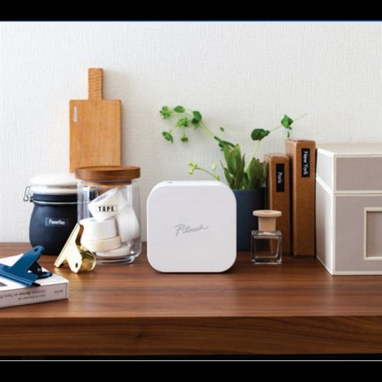 BROTHER Címkenyomtató PTP300BT, Bluetooth, Apple MFI, 20mm/sec, PT Cube Design&Print App for iOS&Android
