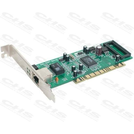 D-Link PCI Vezetékes hálózati Adapter DGE-528T RÉZ GIGA 1000Mbps 32BIT Low Profile a dobozban!!!