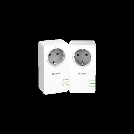 D-Link PowerLine AV2 1000 HD gigabites Starter Kit DHP-P601AV Passthrough