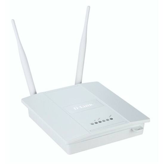 D-Link Wireless N Access Point 300Mbps Poe (8 SSID Simultan)