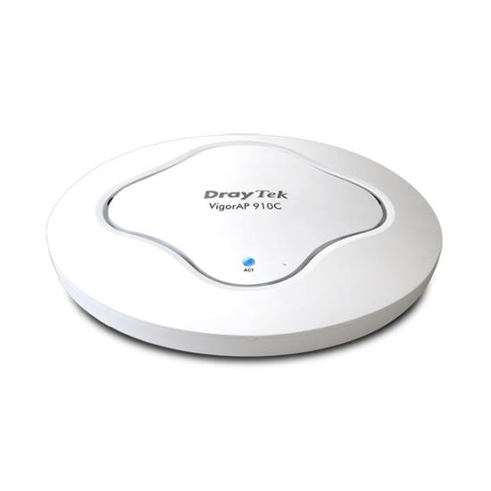 DRAYTEK Wireless AC Access Point Vigor AP 910c 300Mbps (POE) 1xLAN(1000Mbps)