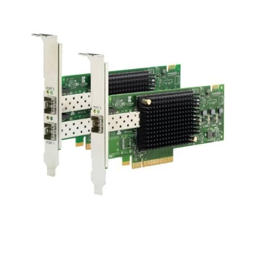 LENOVO szerver HBA - Fibre kártya, Emulex, Dual port, 16Gbps