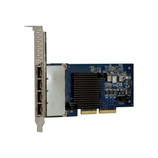 LENOVO szerver LAN - Intel I350-T4 PCIe 1Gb 4-Port RJ45 Ethernet Adapter (ThinkSystem)