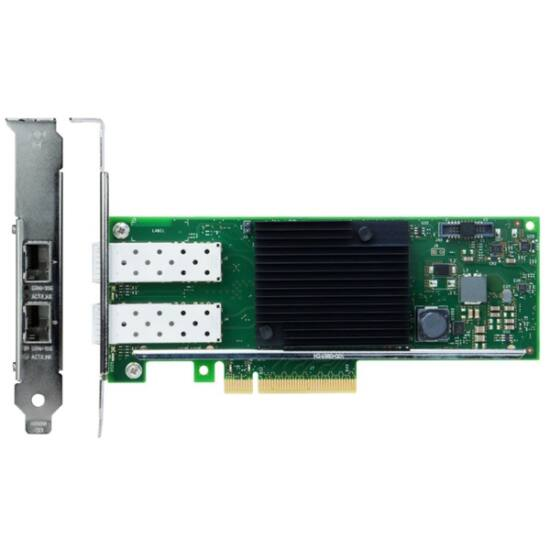 LENOVO szerver LAN - Intel X710-DA2 PCIe 10Gb 2-Port SFP+ Ethernet Adapter (ThinkSystem)