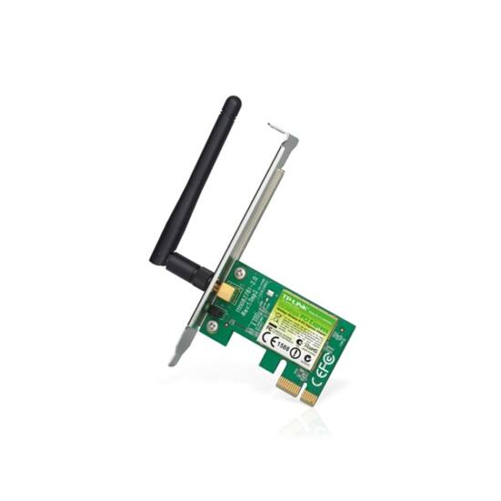 TP-LINK Wireless N PCI-Express hálózati Adapter 150Mbps (nincs low profile a dobozban)