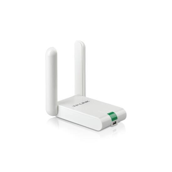 TP-LINK Wireless N USB hálózati Adapter 300Mbps + 4 dBi antenna