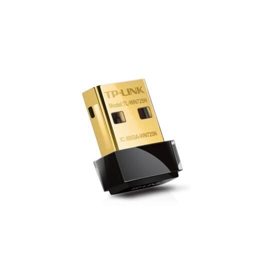 TP-LINK Wireless Adapter USB N-es 150Mbps, TL-WN725N
