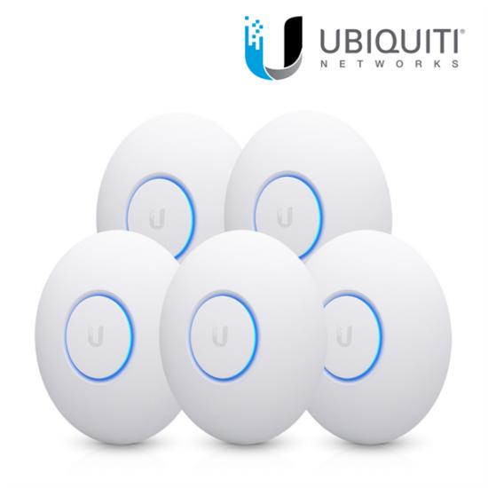 UBiQUiTi UniFi AC Nano HD t 802.11a/b/g/n/ac, Wave2 accesspoint - 5 db - PoE tápegység nélkül