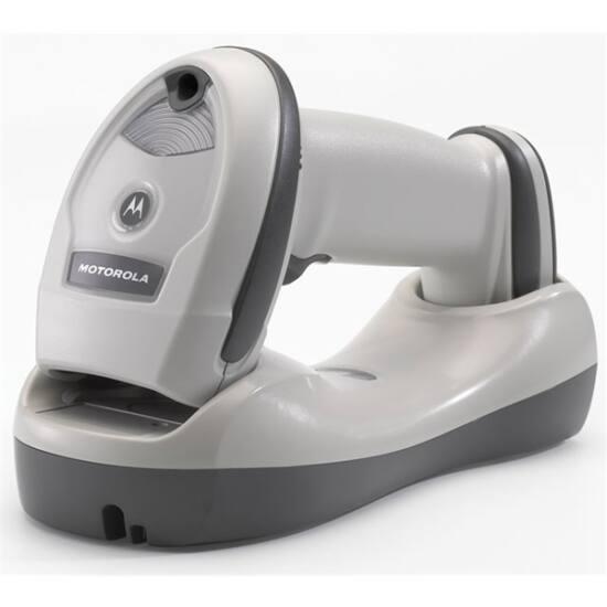 ZEBRA Bluetooth vonalkód olvasó LI4278, BT, 1D, multi-IF, kit (USB), fehér