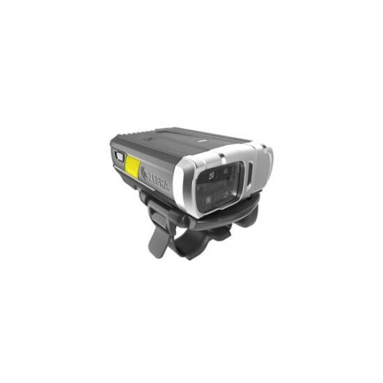 ZEBRA Bluetooth vonalkód olvasó RS6000, BT, 2D, MR, BT, fekete, ezüst