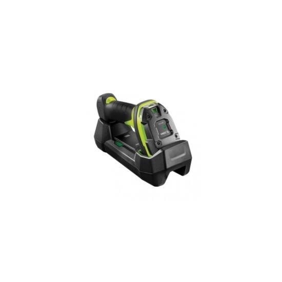 ZEBRA vonalkód olvasó DS3678-ER, forklift kit, BT, 2D, ER, multi-IF, kit (USB), fekete, zöld