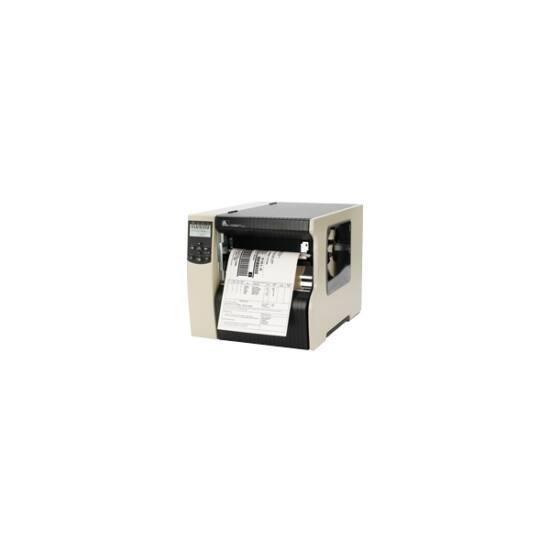Zebra cimkenyomtató, 220Xi4, (203 dpi), TT, DT, cimke leválasztó, vissza csévélő, ZPLII, print szerver (ethernet)