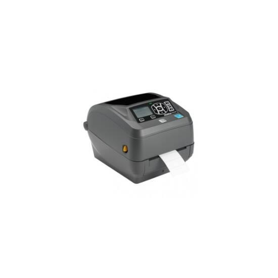 Zebra cimkenyomtató, ZD500, (203 dpi), TT, RTC, ZPLII, BT, Wi-Fi, multi-IF (Ethernet)