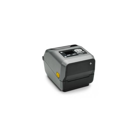 Zebra cimkenyomtató, ZD620t, (203 dpi), TT, vágóegység, MS, RTC, kijelző, EPLII, ZPLII, USB, RS232, BT, Ethernet, Wi-Fi