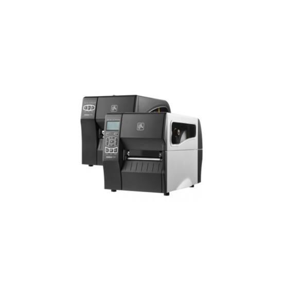Zebra cimkenyomtató, ZT230, (300 dpi), DT, cimke leválasztó, kijelző, ZPLII, USB, RS232