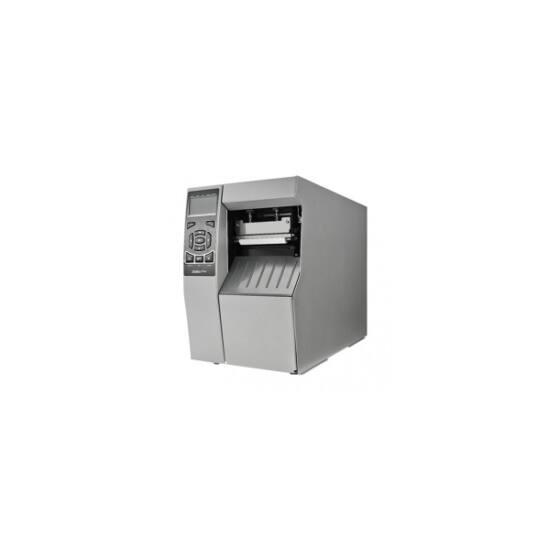 Zebra cimkenyomtató, ZT510, (300 dpi), TT, cimke leválasztó, vissza csévélő, kijelző, ZPL, ZPLII, USB, RS232, BT, Ethern