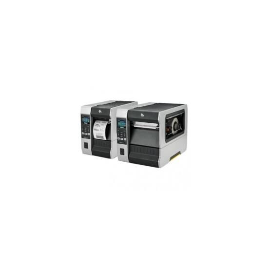 Zebra cimkenyomtató, ZT610, (300 dpi), TT, kijelző, ZPL, ZPLII, USB, RS232, BT, Ethernet, Wi-Fi