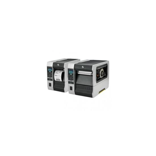 Zebra cimkenyomtató, ZT620, (203 dpi), TT, cimke leválasztó, vissza csévélő, kijelző, ZPL, ZPLII, USB, RS232, BT, Ethern