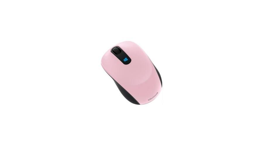 a4aa3c5fdb5e MS Vezeték Nélküli egér Notebook Sculpt Mobile Optikai (Rózsaszín) BlueTrack